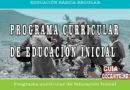 Programa Curricular de Educación Inicial
