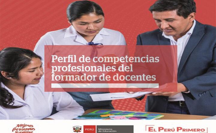 Perfil de competencias profesionales del formador de docentes