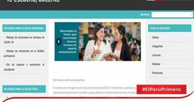 """Minedu crea plataforma """"Te escucho, docente"""": apoyo psicológico para maestras y maestros"""
