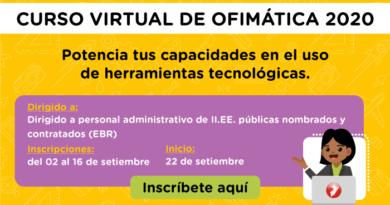 PERÚEDUCA - Curso virtual de ofimática 2020