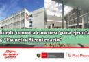 """Minedu convoca concurso para ejecutar 75 """"Escuelas Bicentenario"""""""