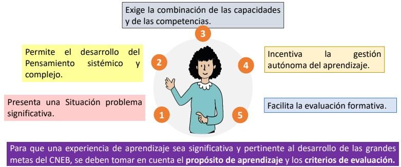 ¿Qué criterios debemos tomar en cuenta para valorar si una experiencia de aprendizaje permite desarrollar competencias?